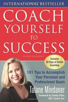 Coach Yourself to Success - Talane Miedaner book cover image