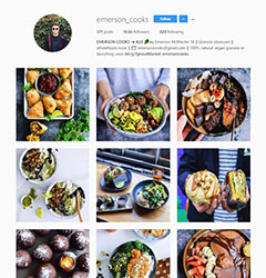 Emerson Cooks Instagram account image