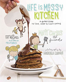 Life Is Messy Kitchen - Mayi Carles eBook cover