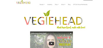 Vegiehead website image