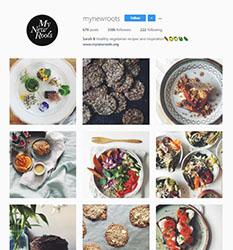 My New Roots Instagram account image