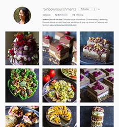 Rainbow Nourishments Instagram account image