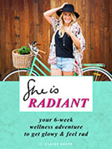 She is Radiant - Claire Baker eBook cover