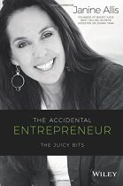 The Accidental Entrepreneur - Janine Allis book cover image