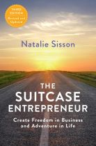 The Suitcase Entrepreneur - Natalie Sisson book cover image
