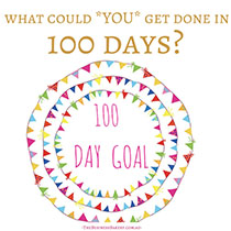 100 Day Goal - The Business Bakery